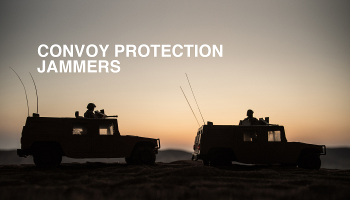 Convoy protection jammer