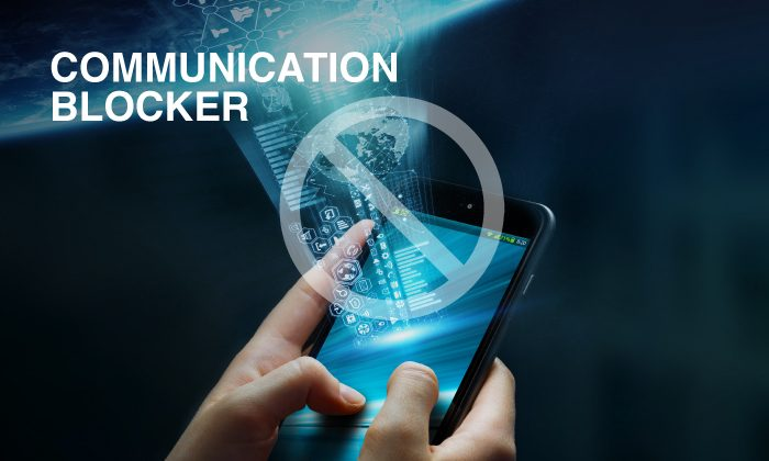 Cell Phone Communication Blocker