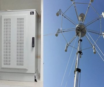 Static H/V/UHF Monitoring and Direction Finding Stations