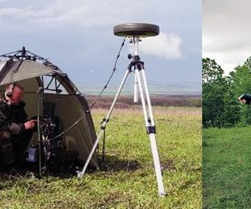 Portable/Manpack H/V/UHF Monitoring and Direction Finding Stations